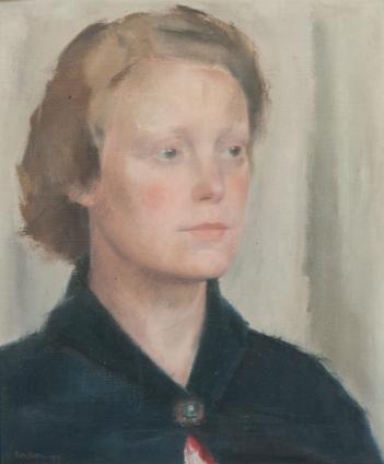 Pieter Rottie, Mevrouw Craeybeckx, 1938, Antwerpen privéverzameling