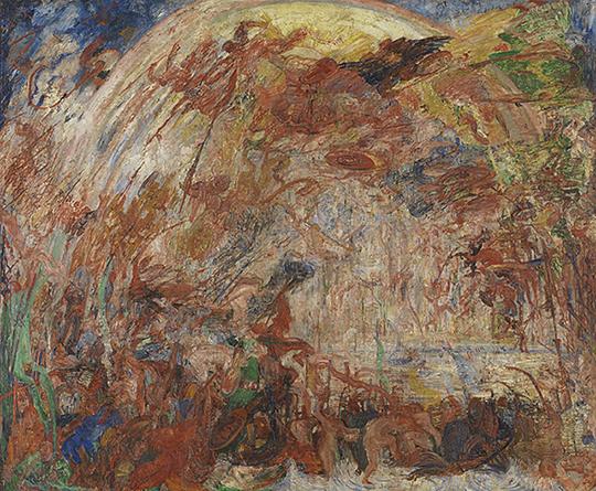 James Ensor, Val van de opstandige engelen, KMSKA, 2176
