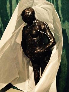 Ook Edgar Degas is vertegenwoordigd in Tour de France en wel met deze 'Zwangere vrouw'.